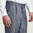 matière Pantalon à Plis Tissu Japonais - L'Exception Paris