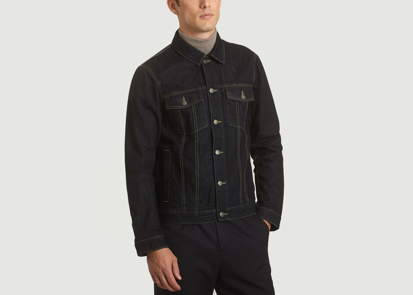 Brut Veste Selvedge En Jean Paris L'exception BwqtwP