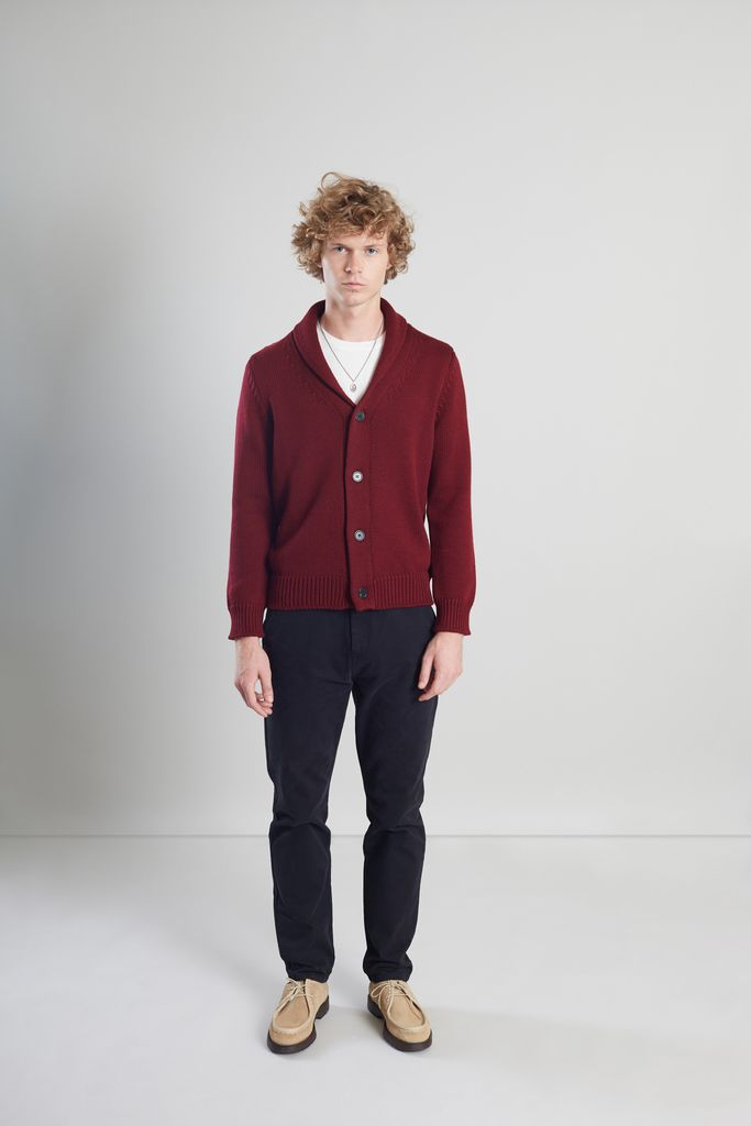 Cardigan Col Châle Mérinos - L'Exception Paris