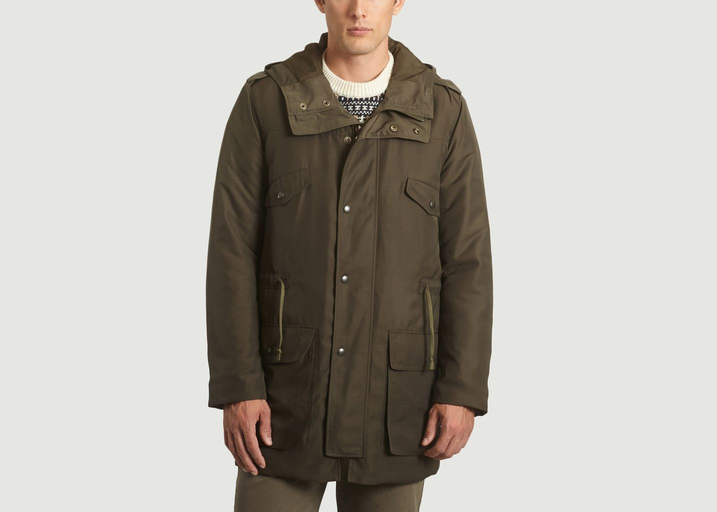Parka Imperméable Rembourrée - L'Exception Paris