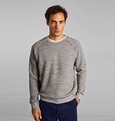 Sweatshirt en coton biologique japonais