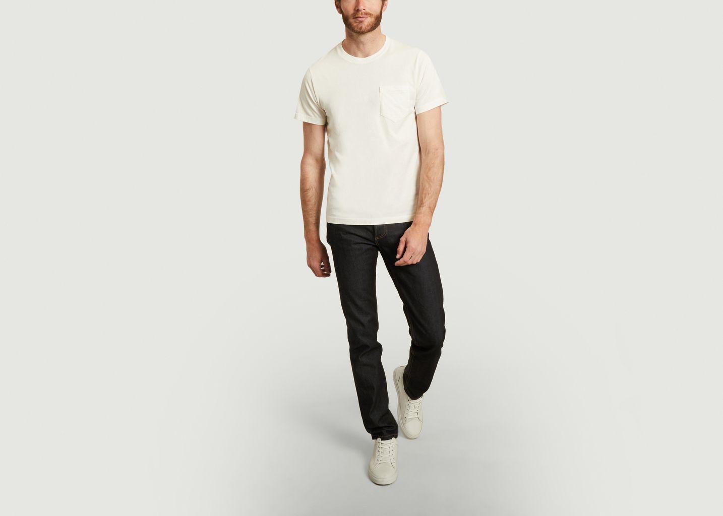 T-shirt poche en coton biologique - L'Exception Paris