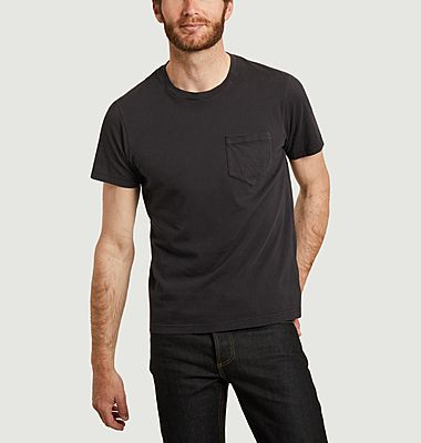 T-shirt poche en coton biologique