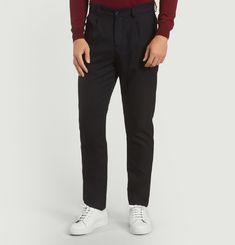 Pantalon Flanelle à Pinces