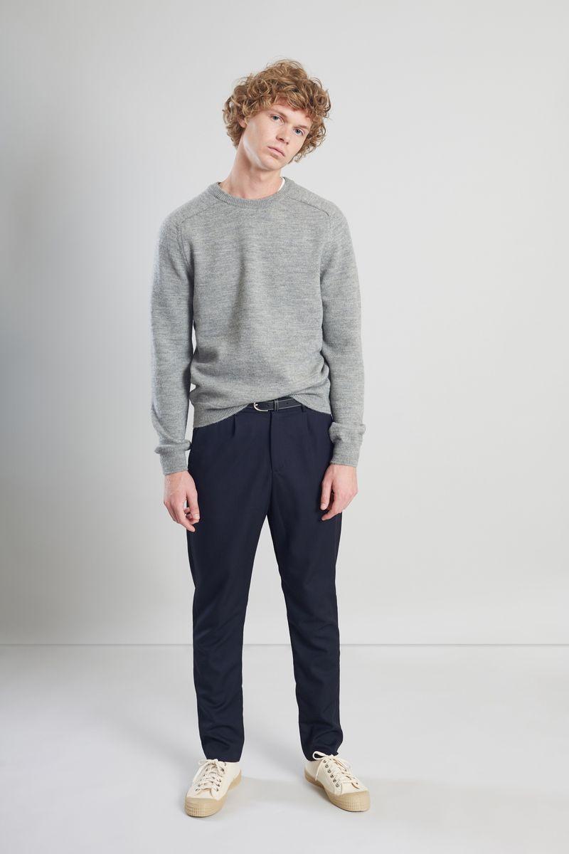 Pantalon à pinces en laine - L'Exception Paris