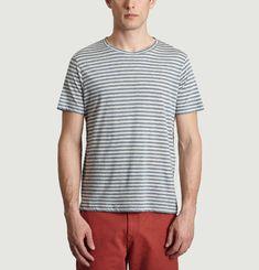 T-Shirt en Coton Japonais Bio Rayé