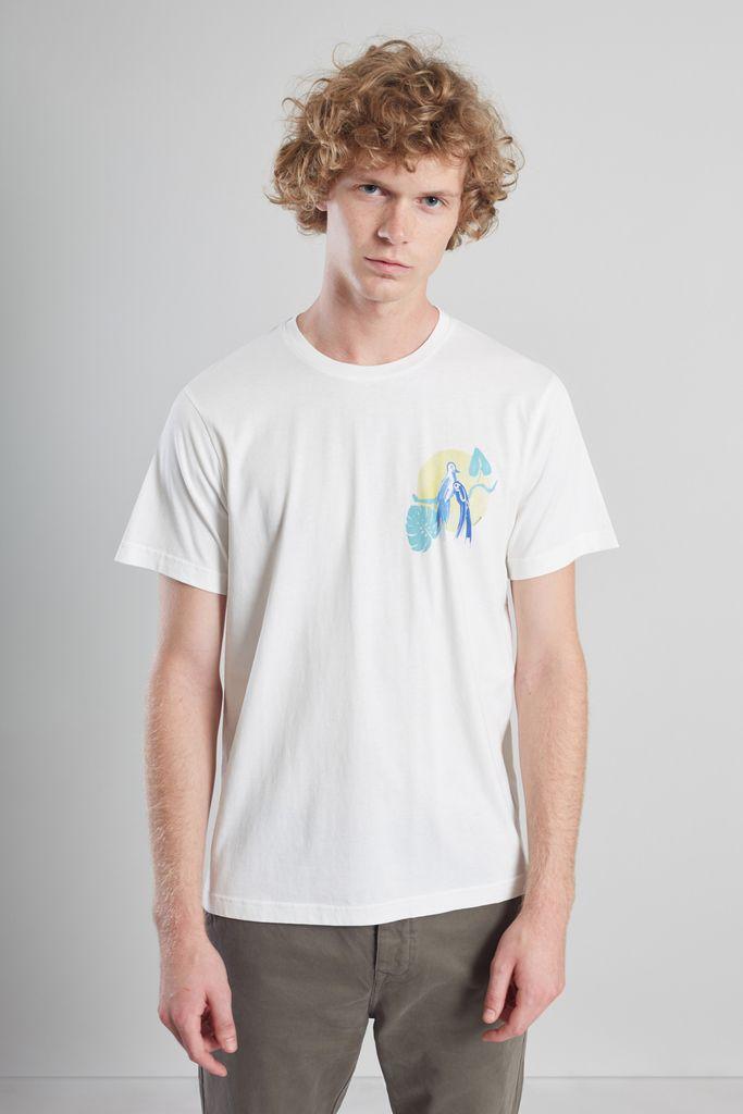 T-Shirt Imprimé Oiseaux - L'Exception Paris