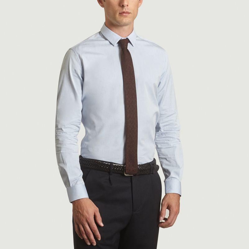 Cravate Tricotée Made in France - L'Exception Paris