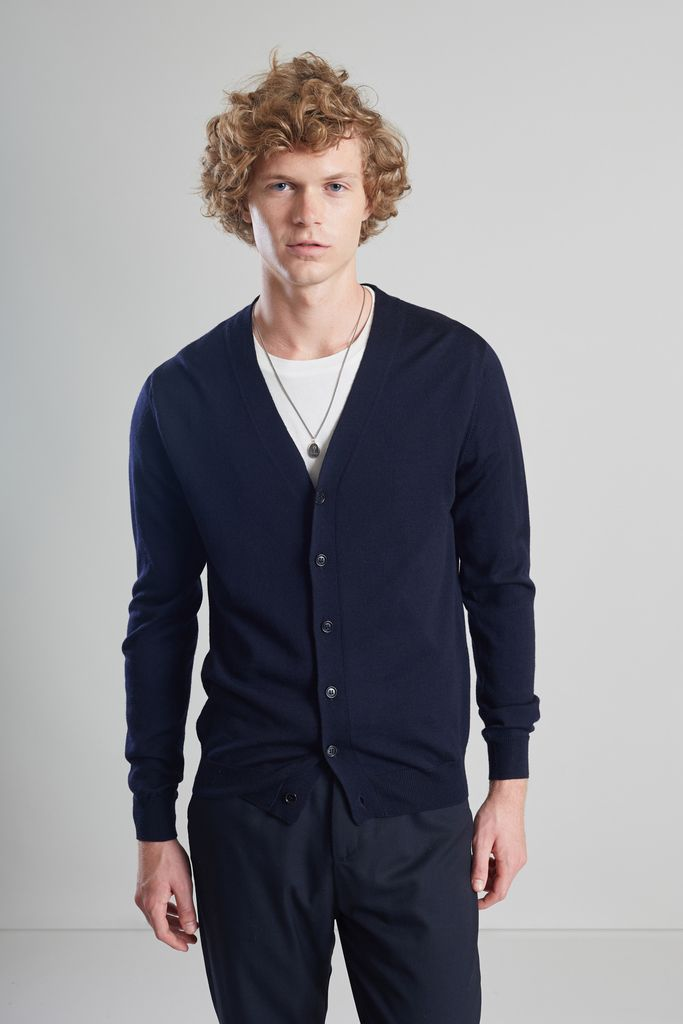 Cardigan Boutonné Mérinos - L'Exception Paris