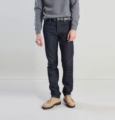 Selvedge Cotton Denim Jeans