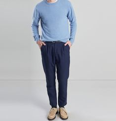Darted Suit Trousers