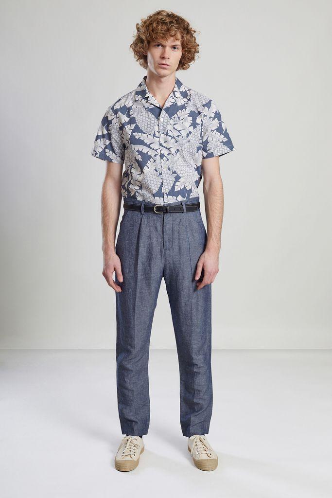 Pantalon à Plis Tissu Japonais - L'Exception Paris