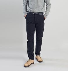 Chino Twill Trousers L'Exception Paris