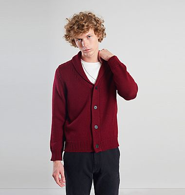 Merino Shawl Collar Cardigan