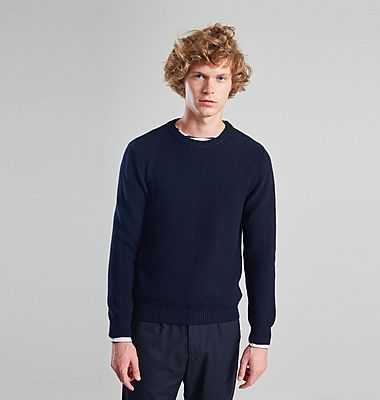 Merino Textured Knit Jumper