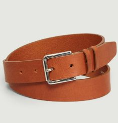 Vegetable Tanned Leather Belt