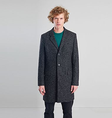 Recycled Wool Overcoat