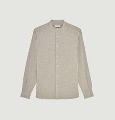 Japanese organic cotton and linen shirt