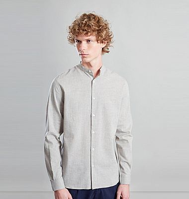 Japanese organic cotton and linen shirt