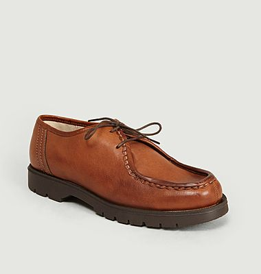 Derbies Padror Kleman x L'Exception Paris en cuir tannage sans chrome