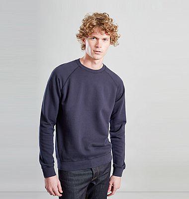 Sweatshirt en coton biologique