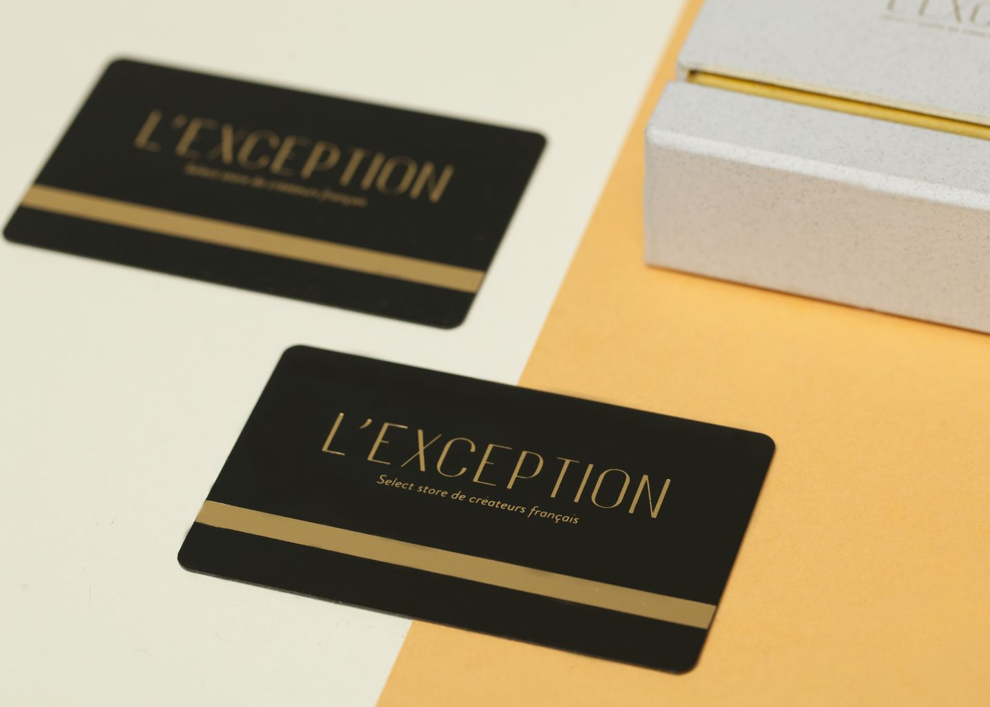 La carte cadeau - L'Exception