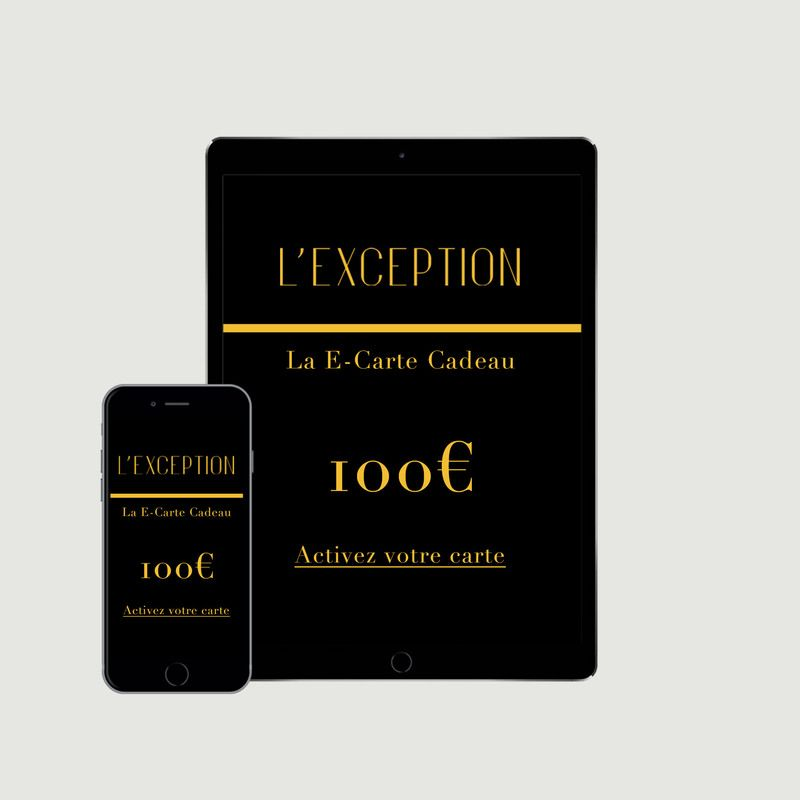 E-carte cadeau - L'Exception