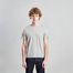 T-shirt rayé en coton biologique japonais - L'Exception Paris