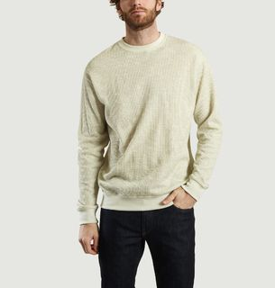 91aa4118e0e Libertine Libertine. Society Honeycomb Knit Jumper