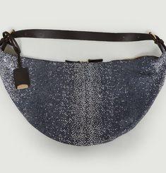 Lorient Shagreen Saddle Bag
