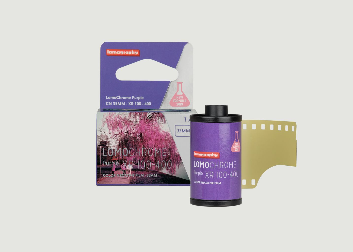 Film LomoChrome Purple 35 mm 2019 - 1 pack - Lomography