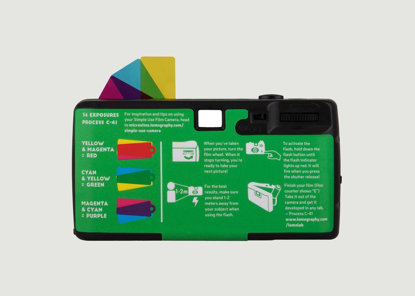 Simple Use Camera 400/27 LomoChrome Purple - Lomography