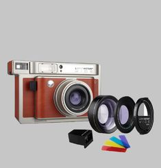 Lomo'Instant Wide Combo Central Pack