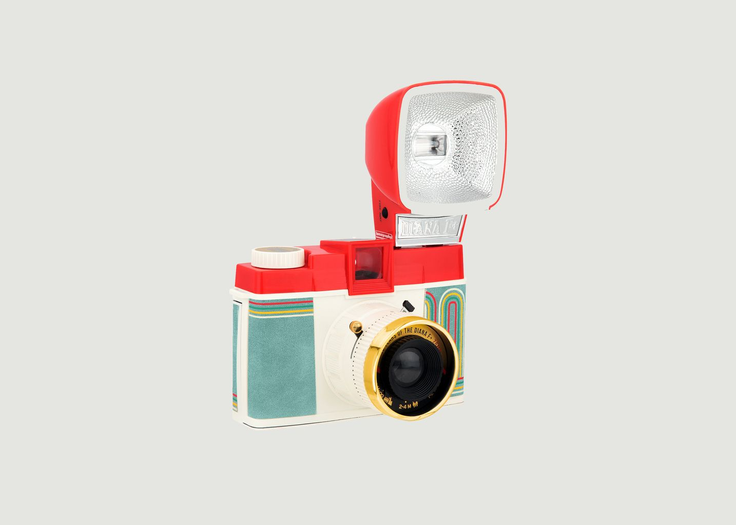 Appareil Diana avec Flash F+ 10 Years of the Diana  - Lomography