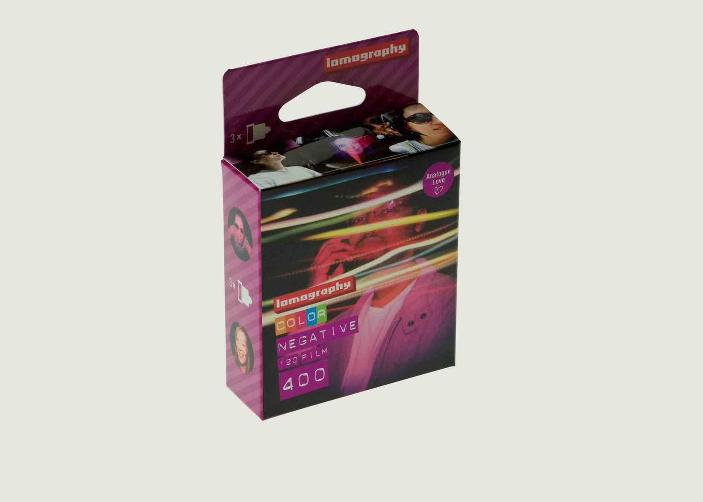 Lomography Color Negative 400/120 3 pcs - Lomography