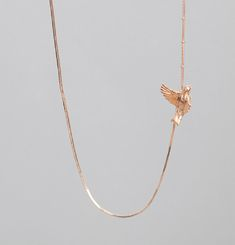 Flying Bird Necklace