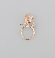 Hovering Bird Ring