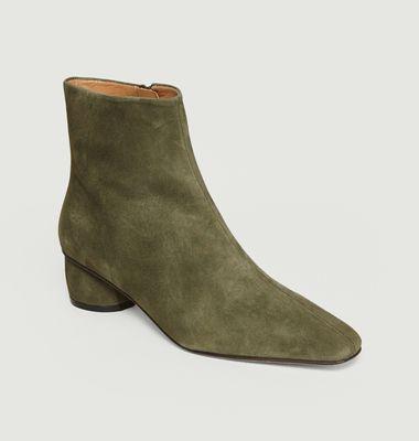 Boots En Cuir Suédé Matea