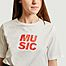 matière T-shirt Music - Loreak Mendian