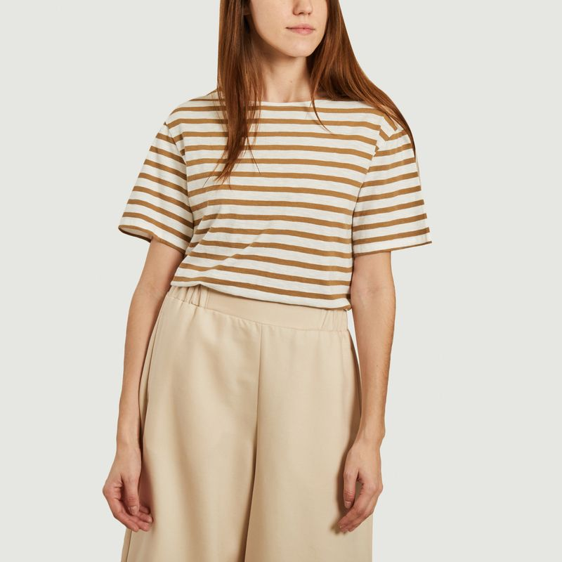 T-shirt marinière Sail - Loreak Mendian