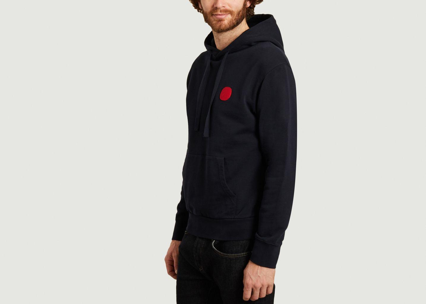 Sweatshirt à capuche Sudadera - Loreak Mendian