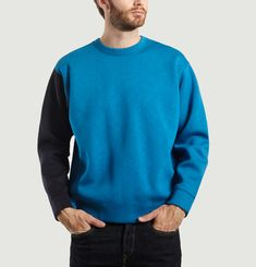Neoprene Block Sweatshirt