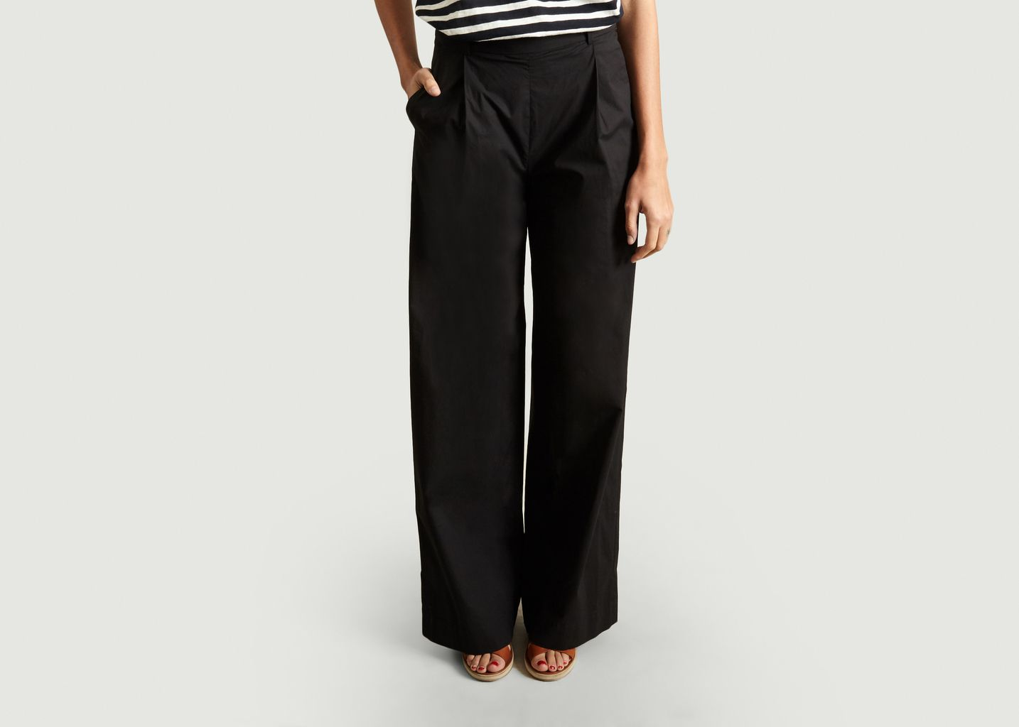 Pantalon Large Cote - Loreak Mendian