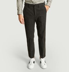 Pantalon Telmo Droit Laine