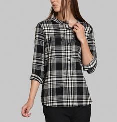 Auria Chequered Shirt