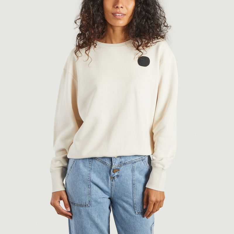 Sweatshirt à pois - Loreak Mendian