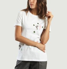 T shirt Forest Brodé
