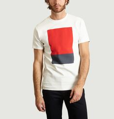 T-Shirt Square Reflection