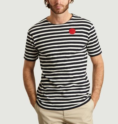 T-shirt Boatneck Dot