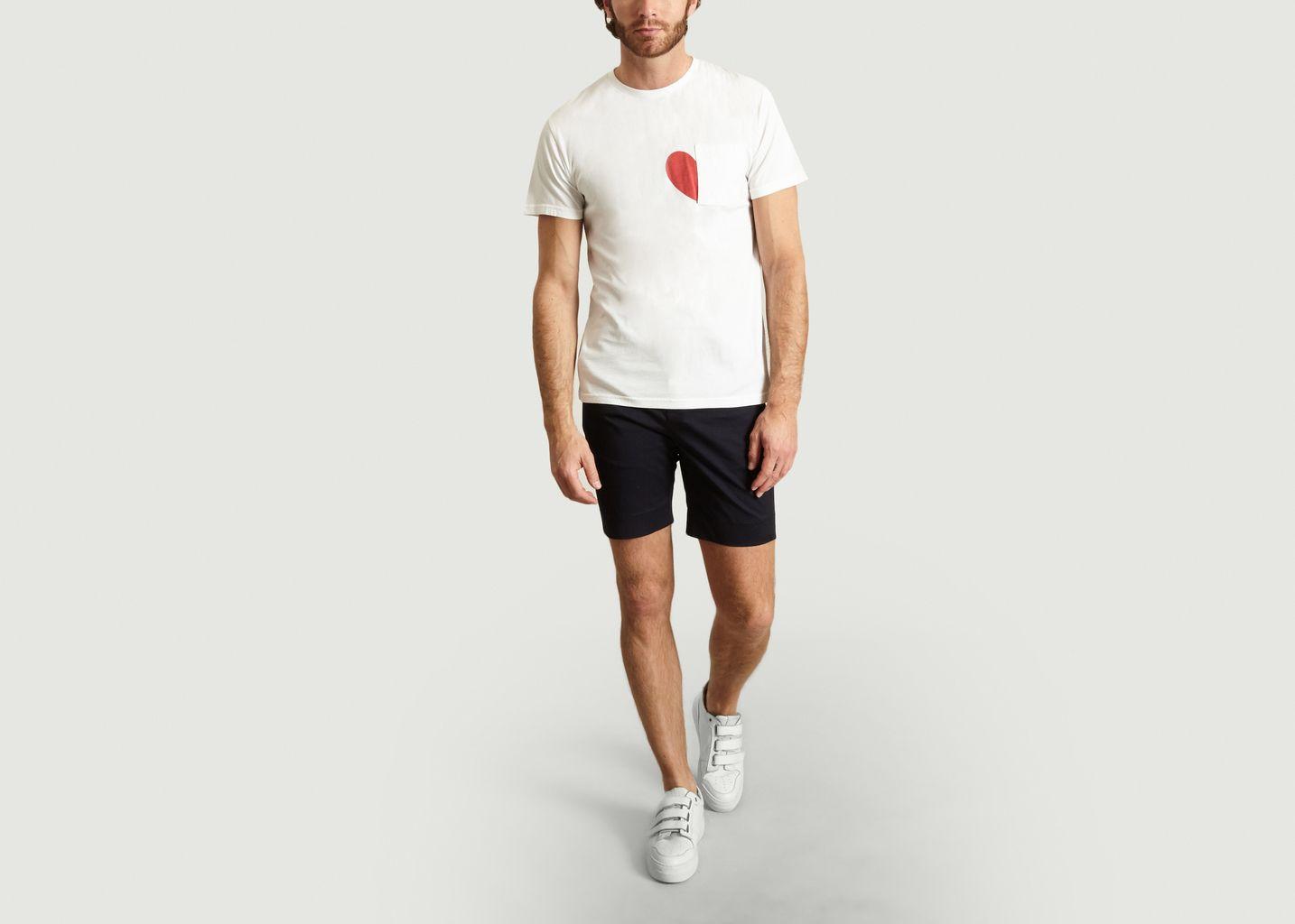 T-Shirt Middle Heart - Loreak